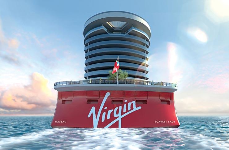 ליידי סקארלט  , צילום: Virgin Voyages