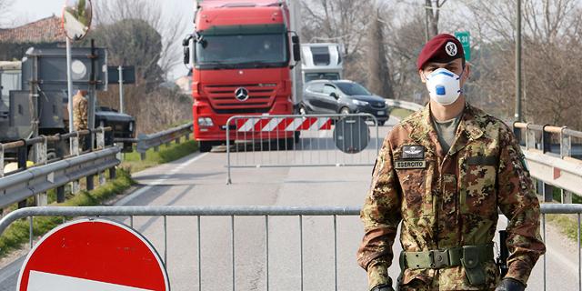 חיילים באיטליה, צילום: אי פי איי