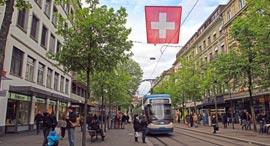 ציריך שווייץ שוויץ, צילום: שאטרסטוק
