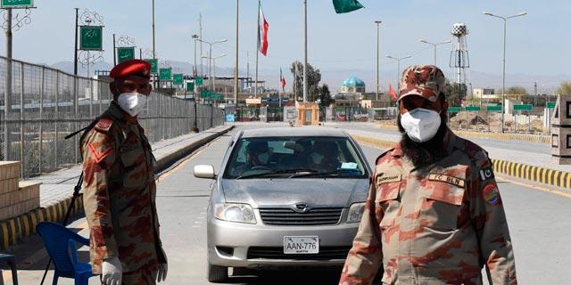 חיילים פקיסטנים בגבול עם איראן, צילום: איי אף פי