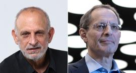 """מנכ""""ל רשות החדשנות אהרון אהרון ומנכ""""ל SNC יוג'ין קנדל, צילומים: אוראל כהן, יובל חן"""