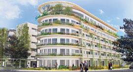 הדמיית המבנה בבית גיל הזהב בהרצליה פיתוח, צילום: דנה מור אדריכלים, אדר' טולו אמיתי