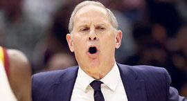 ג'ון ביילין מאמן קליבלנד, צילום: AP