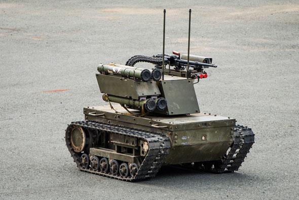 רובוט צבאי, צילום: Shutterstock