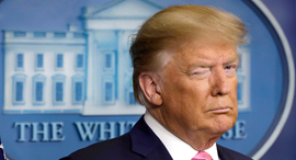 """נשיא ארה""""ב דונלד טראמפ, צילום: MCT"""