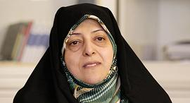 שמעסומה אבתכאר סגנית נשיא איראן חסן רוחאני , צילום: איי פי