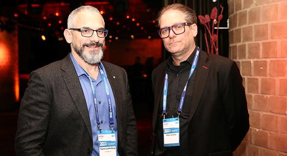 ירון לפנברג ומייק קסלר, צילום: אוראל כהן