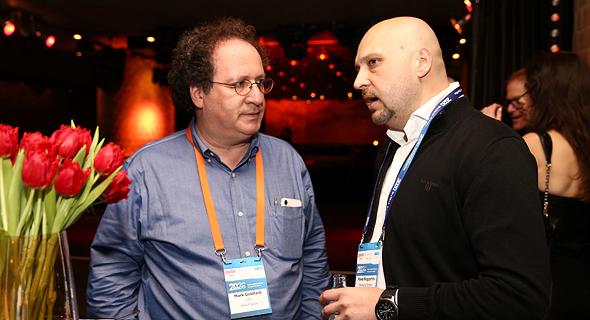 מרק גולדפרב ופאבל רוגוזין, צילום: אוראל כהן