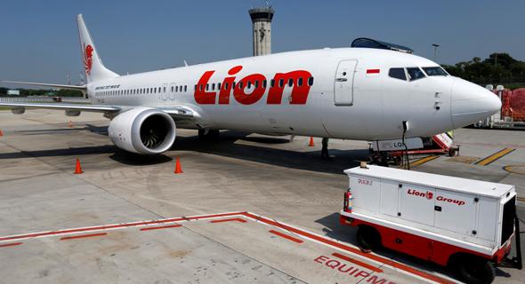 מטוס של ליון אייר האינדונזית