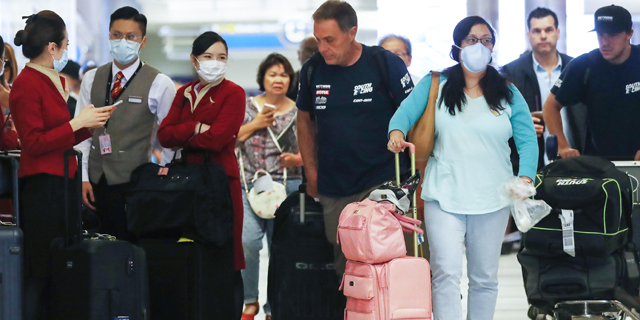 """ארה""""ב תחייב את הנוסעים הנכנסים להוכיח שביצעו בדיקת קורונה - שיצאה שלילית"""