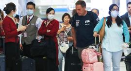 נגיף וירוס קורונה שדה תעופה לוס אנג'לס, צילום: גטי אימג'ס