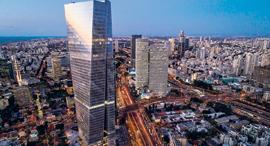 מגדל עזריאלי שרונה, המאכלס חברות הייטק רבות, צילום: גטי