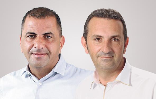 """עדי (מימין) ורני צים. """"הם לא גילו פתאום שהם אחים"""", צילום: עמית שעל"""