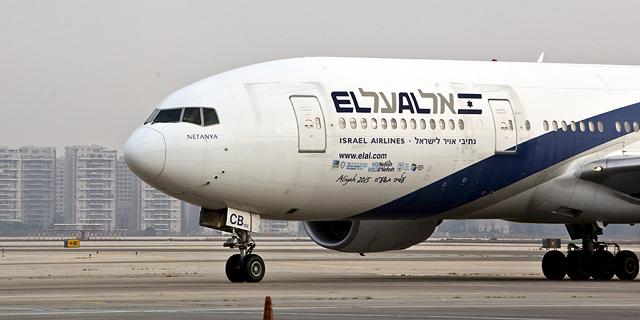 מטוס אל על, צילום: רויטרס