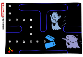 קריקטורה 3.3.20, איור: צח כהן