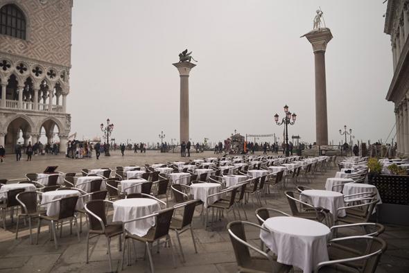 ונציה ריקה מתיירים