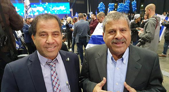 מימין יואל כהן ואילן כהן