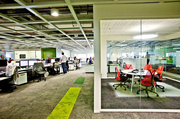 משרדי איביי מרכז מחקר ופיתוח ebay, צילום: רמי זרנגר