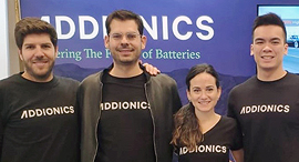 Addionics executive team. Photo: Addionics Ltd