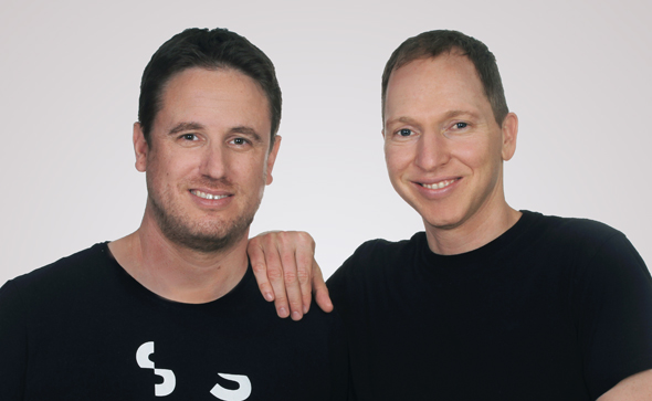 Hi Auto co-founders Eyal Shapira (left) and Roy Baharav. Photo: Photo: Osnat Krasnanski