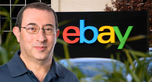 "מוטי אליאב מנכ""ל איביי באונליין מטה ebay, צילום: אייל טואג, אי פי איי"