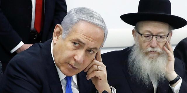 יעקב ליצמן ובנימין נתניהו, צילום: רויטרס
