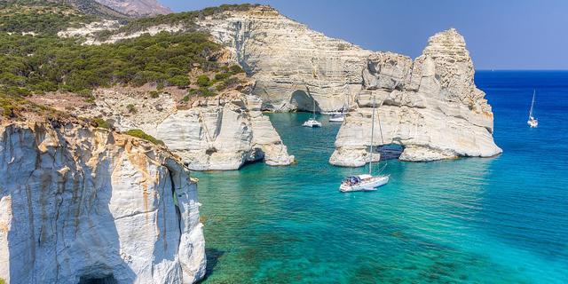 חוף ביוון, צילום: שאטרסטוק