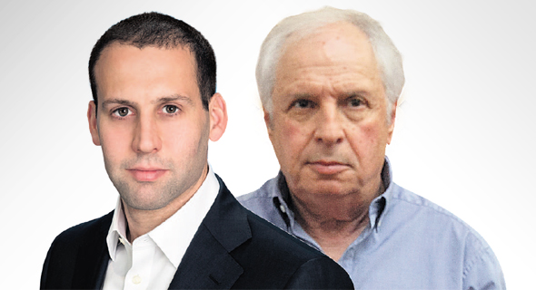 """שאול אלוביץ'  תומר ראב""""ד מנכ""""ל בי-קום, צילום: אוהד צויגנברג"""