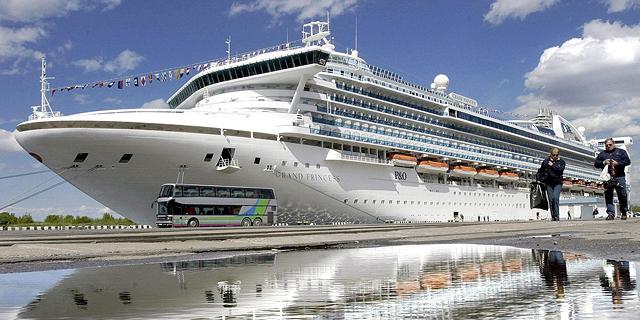 ספינת התענוגות גראנד פרינסס, צילום: איי אף פי