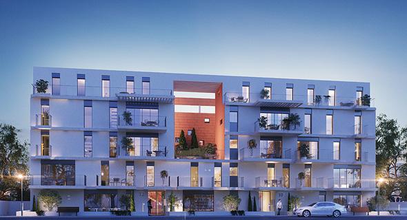"""הפרויקט ברחוב הרוגי מלכות 12-10. """"בניין שהוא חריג בנוף ההתחדשות העירונית"""""""