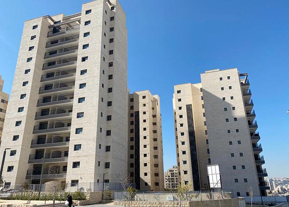 דירות של מגוריט בשכונת בארנונה בירושלים