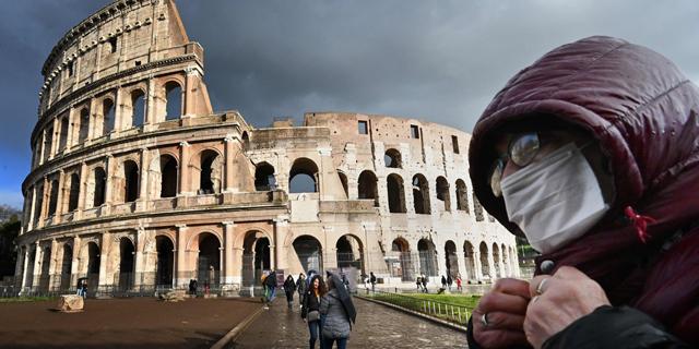יום דרמטי באיטליה: יותר מ-3,500 חולים ו-368 מתים