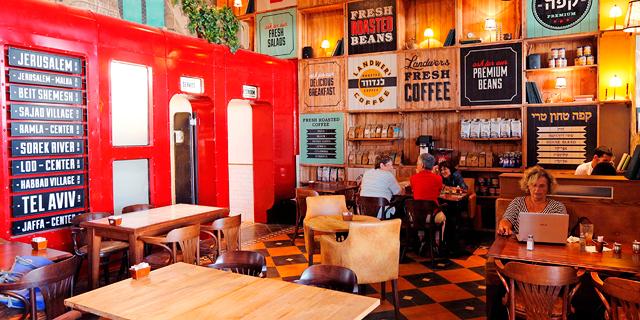 בית קפה (לפני הקורונה). לא כולם יחזרו לספק שירותי טייק אוויי, צילום: דודו שמואלי