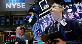 וול סטריט בורסה ניו יורק ירידות קורונה NYSE, צילום: רויטרס