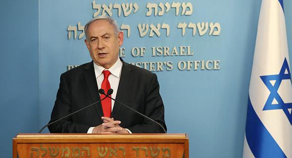 ראש הממשלה בנימין נתניהו, צילום: עמית שאבי