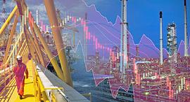 אסדת נפט ירידות שערים בורסה וול סטריט, צילום: שאטרסטוק