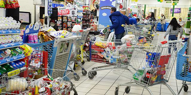 זינוק של 18% ברכישות באשראי ברשתות השיווק בפברואר