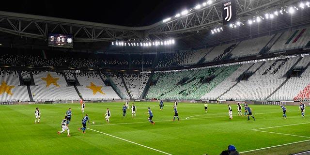 יובנטוס נגד אינטר באצטדיון ריק, צילום: איי פי