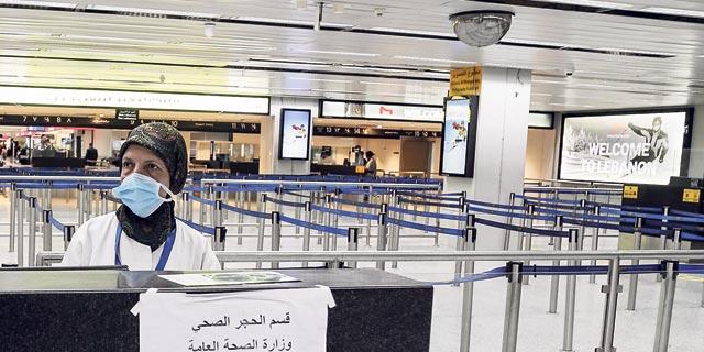 נמל תעופה ריק בלבנון, צילום: אי פי איי