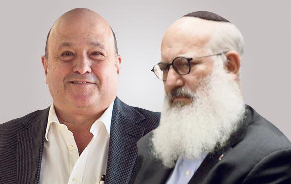 מימין אדוארדו אלשטיין ו דוד פורר, צילומים: עמית שעל, ענר גרין