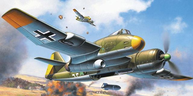 מטוס קרב לא סימטרי? יש דבר כזה, צילום: Revell