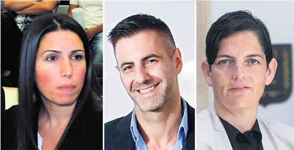 """מימין: הכנ""""רית סיגל יעקבי ונאמני דקור עוה""""ד מור נרדיה וליזה חדש. ביקשו שכר טרחה של 6.4 מיליון שקל"""