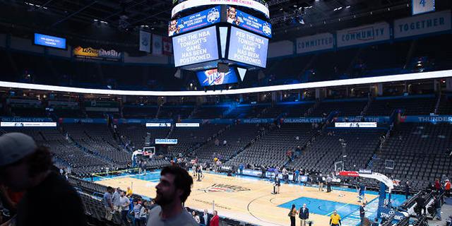 ליגת ה-NBA הקפיאה את פעילותה עד להודעה חדשה