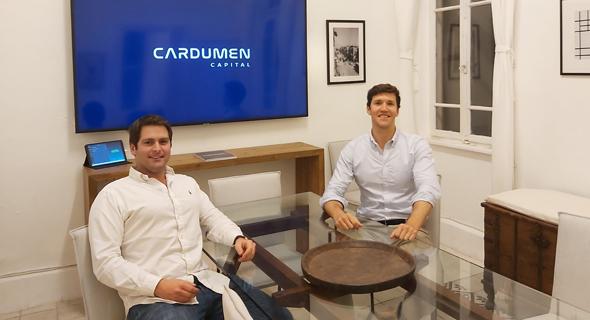 Cardumen Capital executive team. Photo: PR
