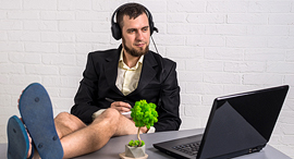 Working from home (illustration). Photo: Shutterstock