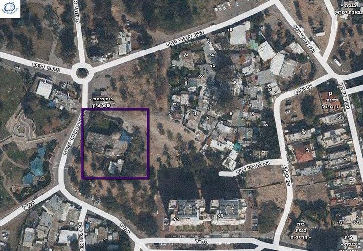 קבר סלמה אבו האשם. לדעת החוקרים הכפר סלמה התפתח סביבו, צילום: המרכז למיפוי ישראל
