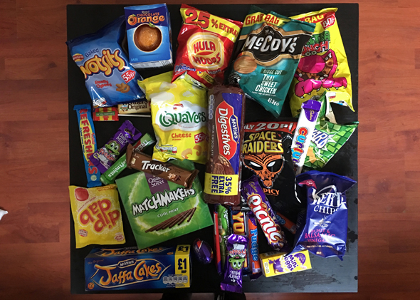 A package sent through CandyBandy from the U.K. Photo: CandyBandy
