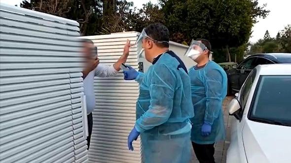 אדם שהתעטש בכוונה על פקחי משרד הבריאות ונקנס ב-5,000 שקלים