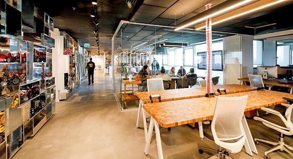 משרדי חברת אינפיבונד, צילום: כפיר זיו