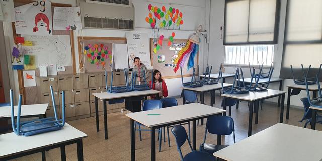 השבתת מערכת החינוך בתקופת הסגר המלא, צילום: תומר הדר
